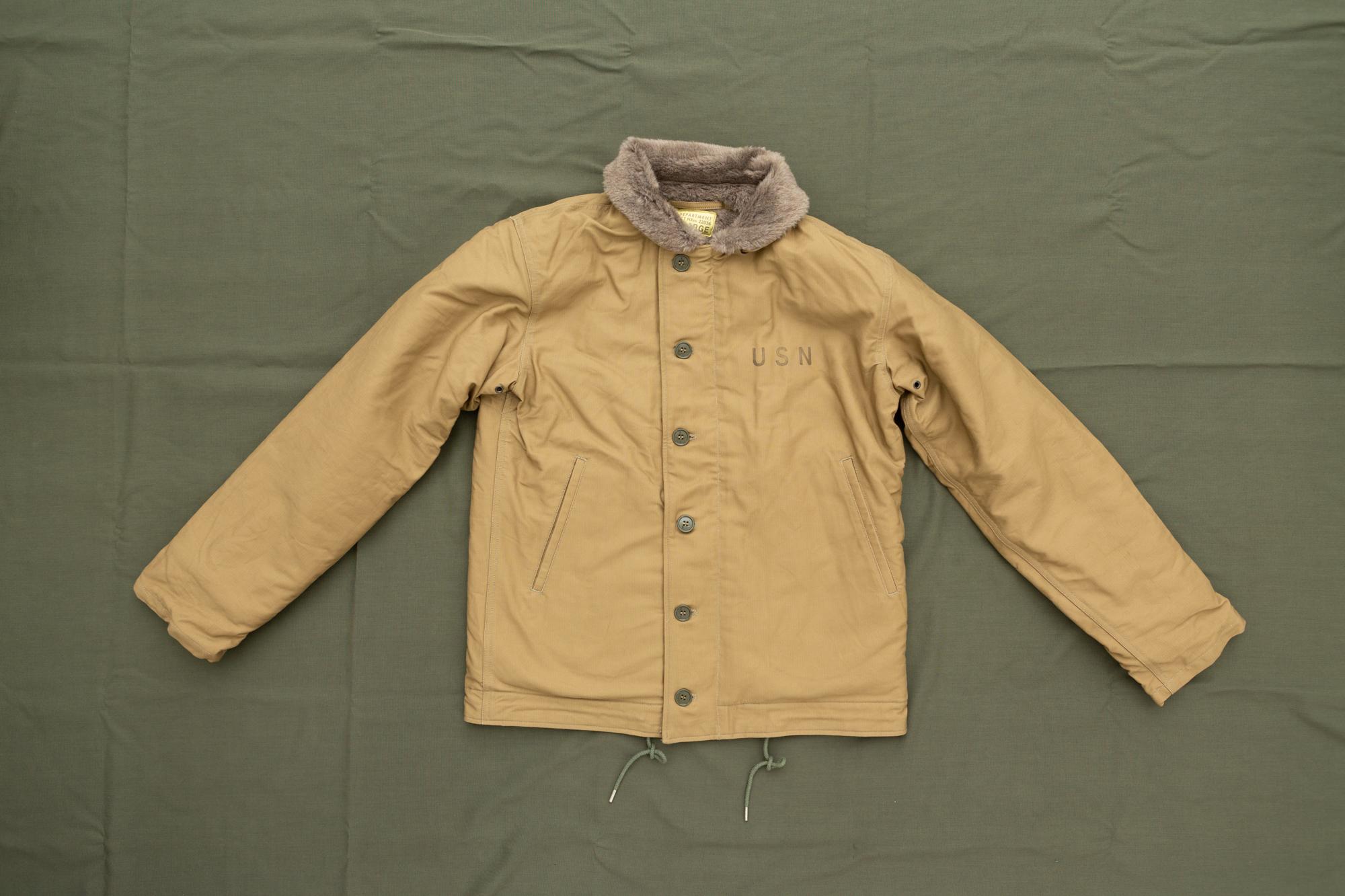 TYPE N-1 Deck jacket Khaki