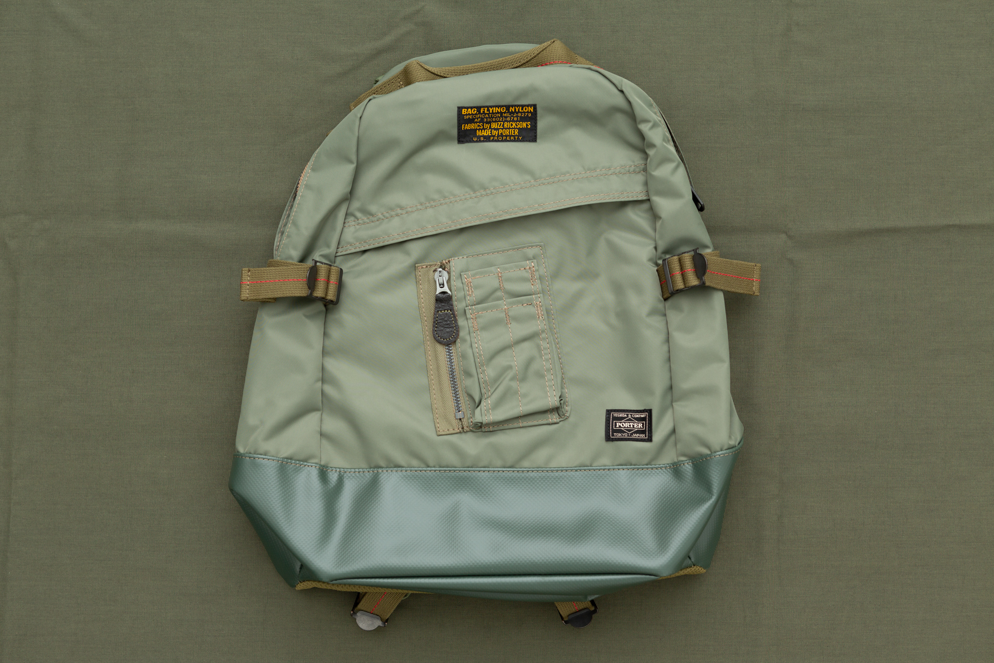 BuzzxPorter Day Pack Sage