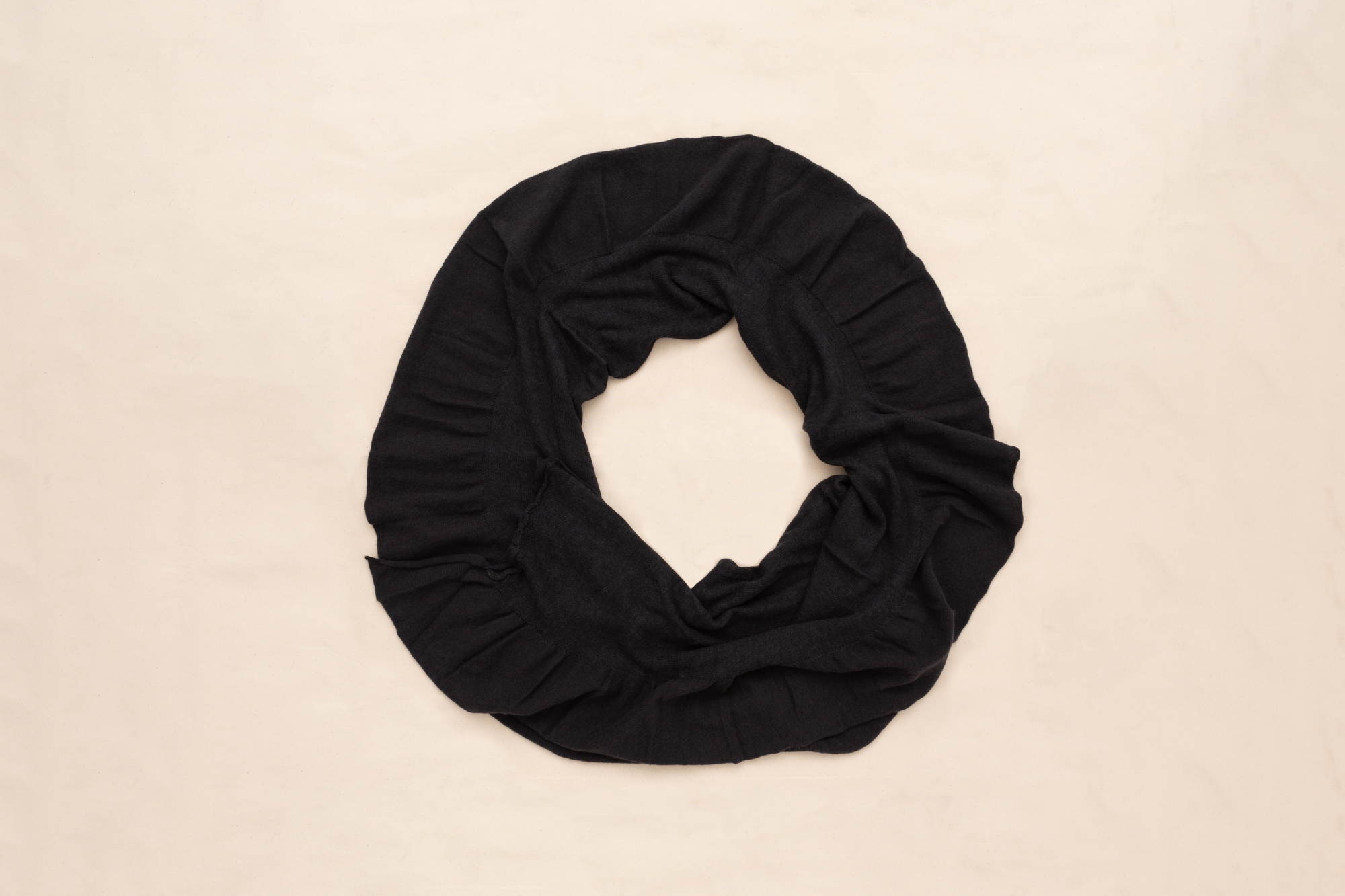 WAVE LAYERED SCARF BY LUCA LAURINI