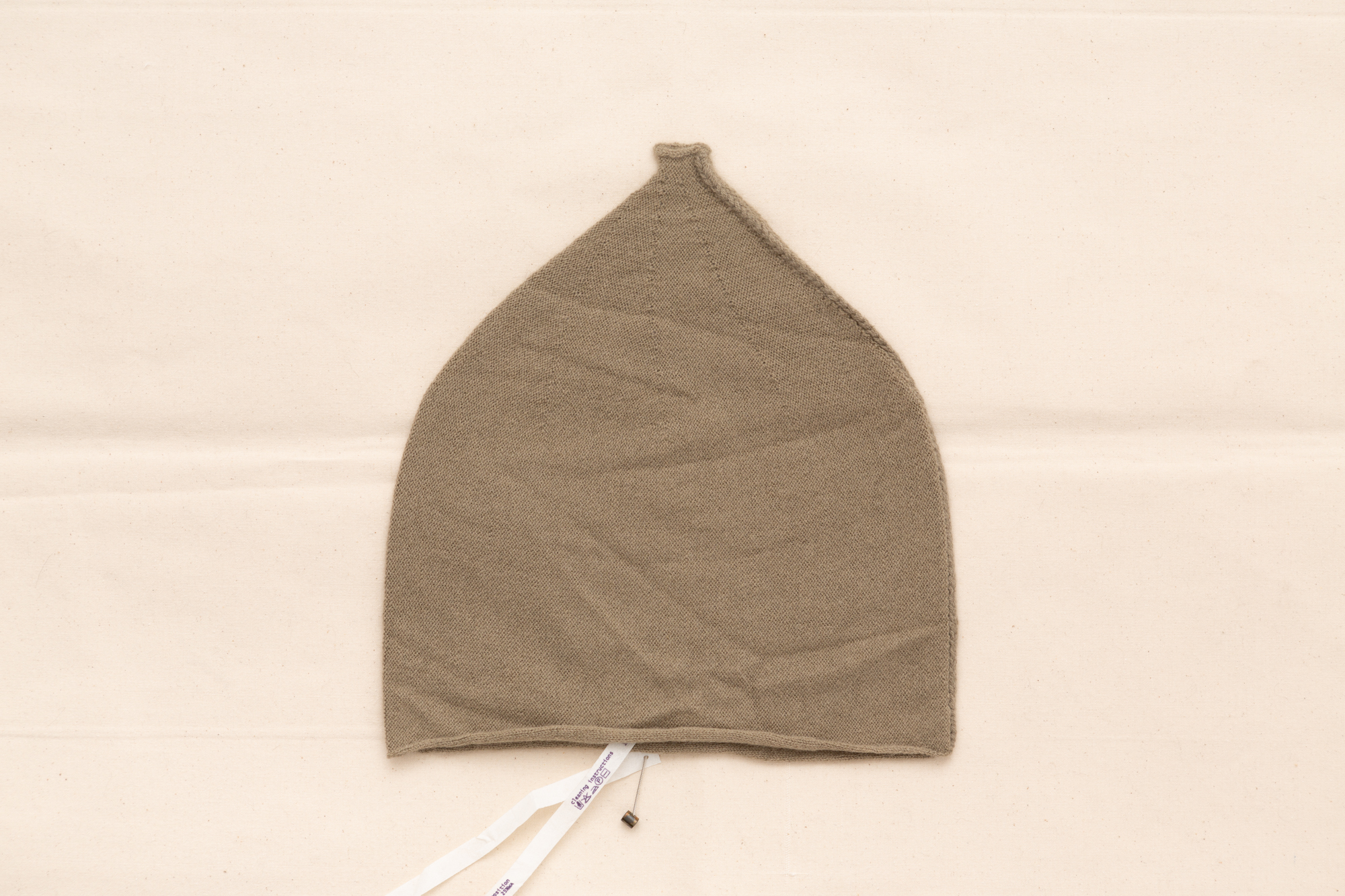 ZIPPED SEAM DOME BEANIE BY LUCA LAURINI