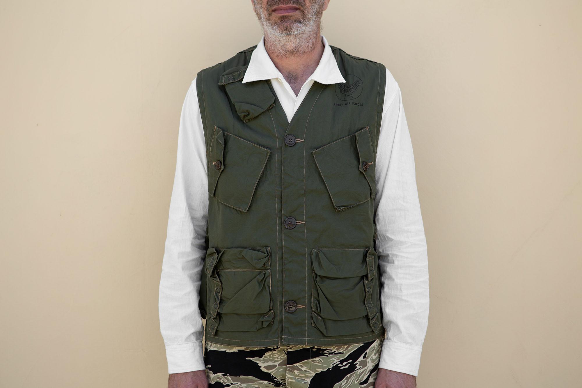 C-1 Civilian Vest Olive Green
