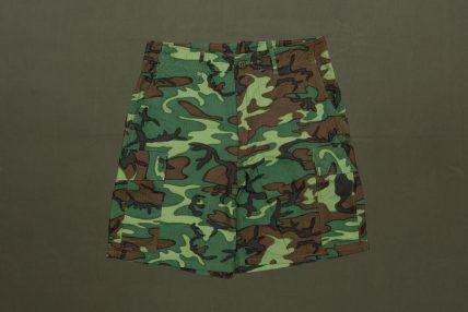 Shorts ERDL camo poplin